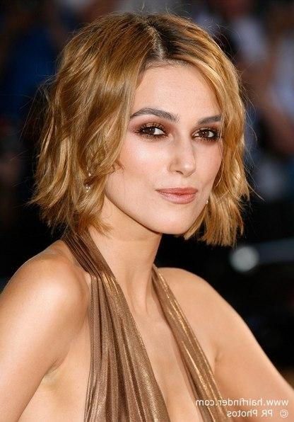Keira Knightley's Versatile And Easy To Maintain Short Hairstyle For Keira Knightley Short Haircuts (View 18 of 20)