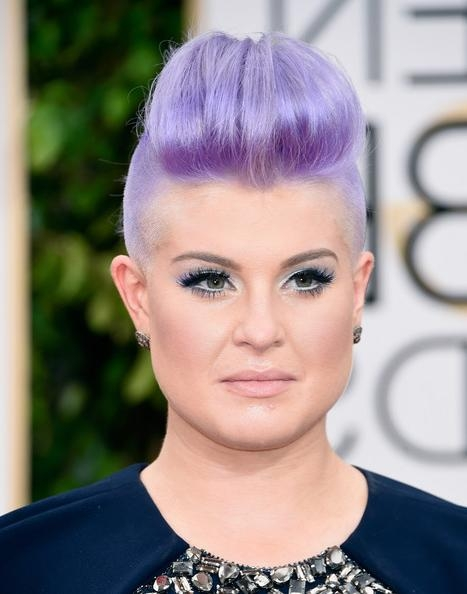 Kelly Osbourne Fauxhawk – Kelly Osbourne Short Hairstyles Lookbook In Kelly Osbourne Short Haircuts (View 5 of 20)