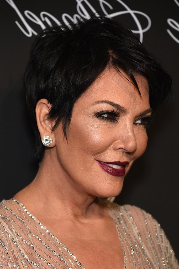 Kris Jenner Hair – Stylebistro Inside Kris Jenner Short Haircuts (View 9 of 20)