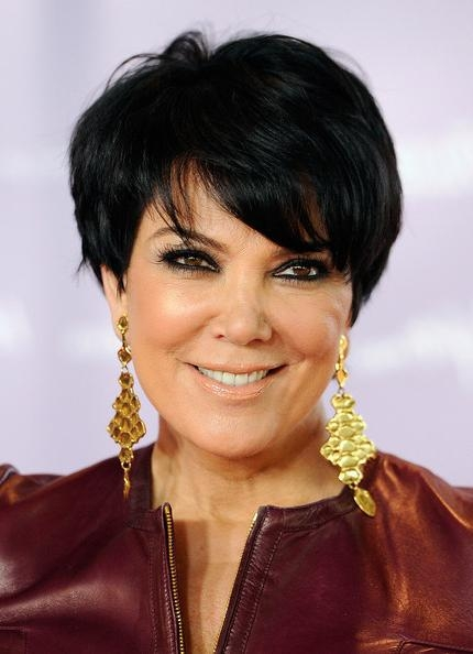Kris Jenner Short Cut With Bangs – Kris Jenner Short Hairstyles Intended For Kris Jenner Short Hairstyles (View 13 of 20)