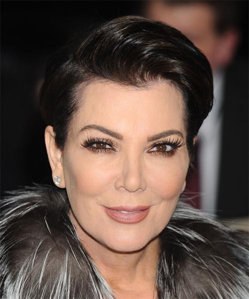 Kris Jenner Short Straight Formal Hairstyle (Mocha) Intended For Kris Jenner Short Hairstyles (View 19 of 20)