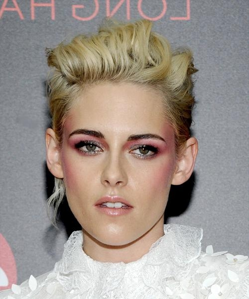 Kristen Stewart Hairstyles For 2018 | Celebrity Hairstyles For Kristen Stewart Short Hairstyles (Gallery 16 of 20)
