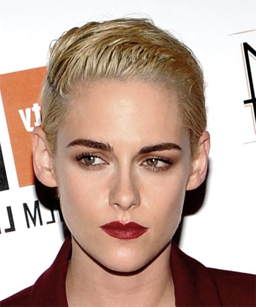 Kristen Stewart Hairstyles For 2018 | Celebrity Hairstyles With Regard To Kristen Stewart Short Hairstyles (View 11 of 20)