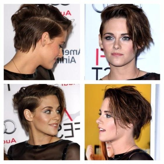 Kristen Stewart Short Haircut – Google Search | Pelos Chulos Inside Kristen Stewart Short Hairstyles (Gallery 19 of 20)