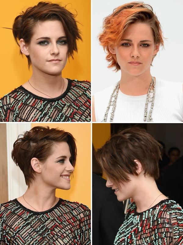 Kristen Stewart's Hair Cut — New Choppy 'do At 'camp X Ray In Kristen Stewart Short Hairstyles (View 20 of 20)