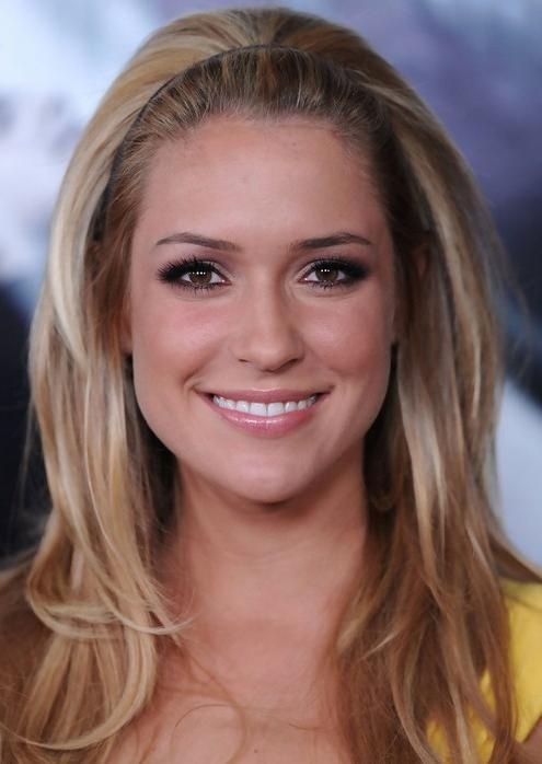 Kristin Cavallari Medium Hairstyle: Layered Hair With Headband Within Kristin Cavallari Short Hairstyles (View 10 of 20)