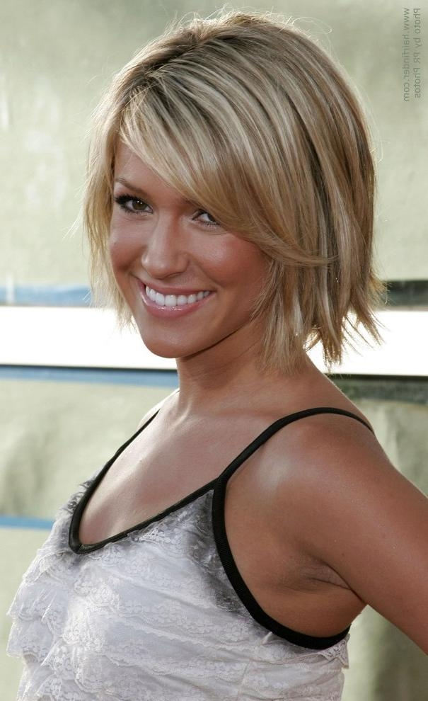 Kristin Cavallari Short Bob Haircut] Kristin Cavallari Short With Kristin Cavallari Short Hairstyles (View 12 of 20)