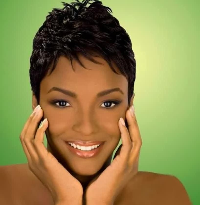 Ladies Haircuts Soft Short Hairstyles For Black Women – Best Within Soft Short Hairstyles For Black Women (View 15 of 20)