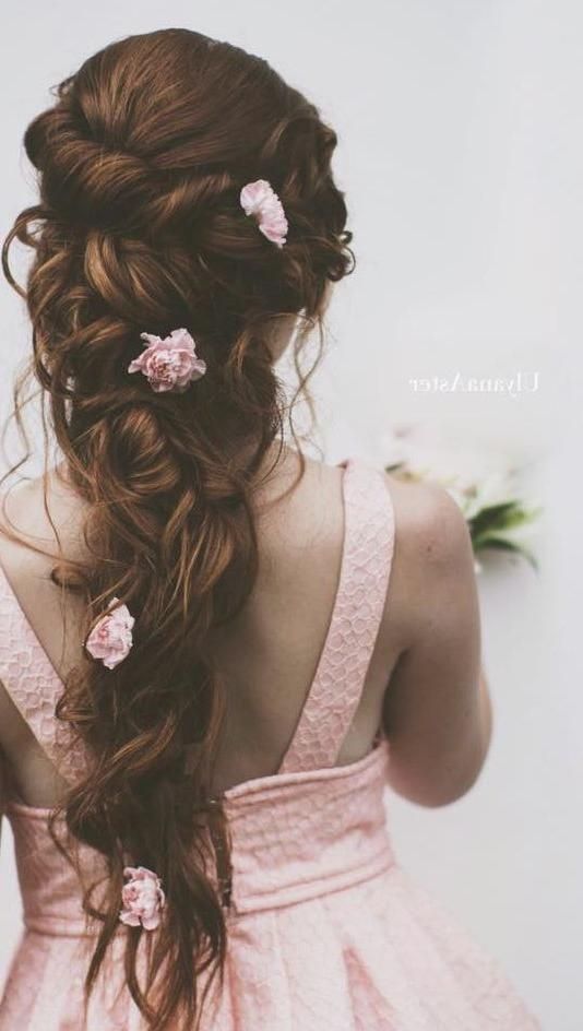 Latest Bridal Long Hairstyles Intended For Best 25+ Long Hair Wedding Ideas On Pinterest | Wedding Hairstyles (View 9 of 20)