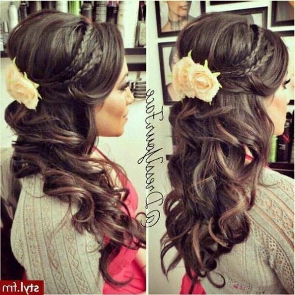 Latest Cute Long Hairstyles For Prom Regarding Prom Hairstyles – Watchfreak Women Fashions (View 12 of 20)