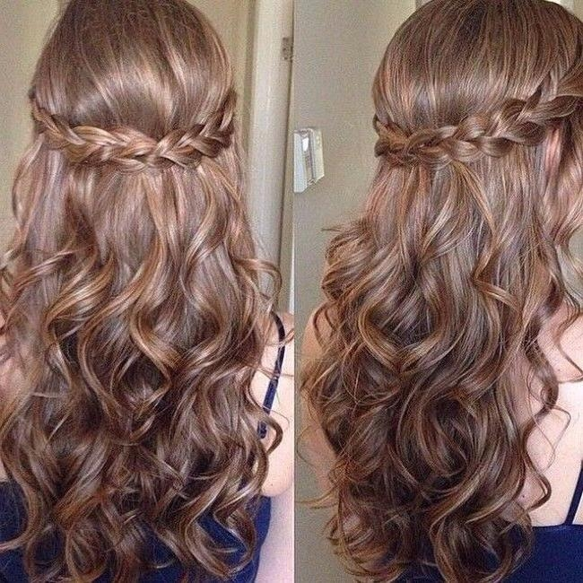 Latest Cute Long Hairstyles For Prom Within 25+ Unique Cute Hairstyles For Prom Ideas On Pinterest | Cute Prom (View 4 of 20)