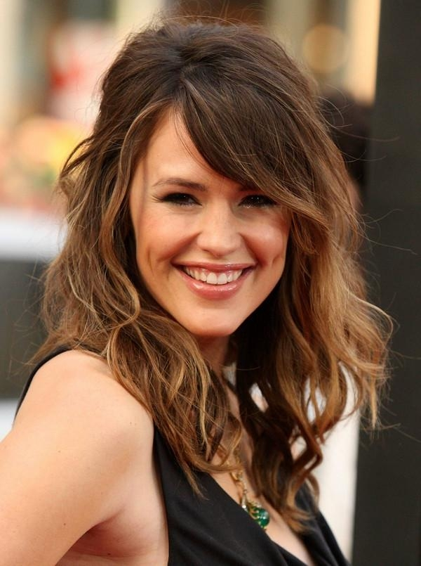 Latest Cute Long Hairstyles With Bangs In Long Haircuts With Side Bangs (View 11 of 20)