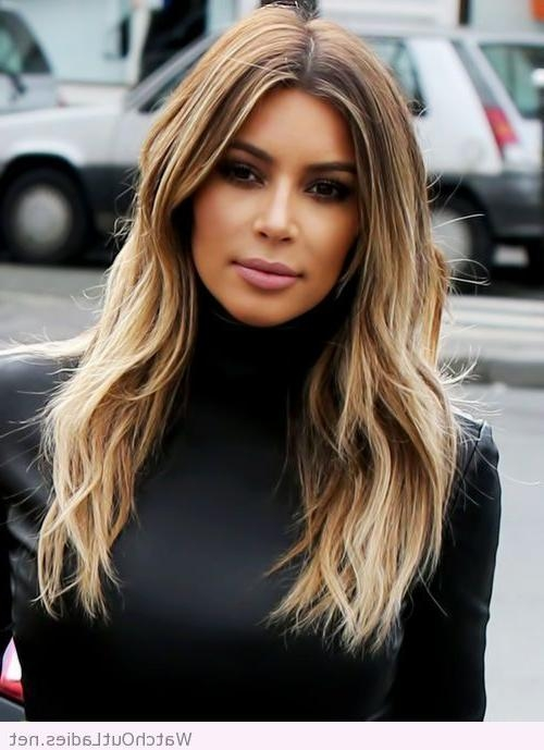 Latest Kim Kardashian Long Haircuts With Best 25+ Kim Kardashian Hair Ideas On Pinterest | Kim Kardashian (View 6 of 15)