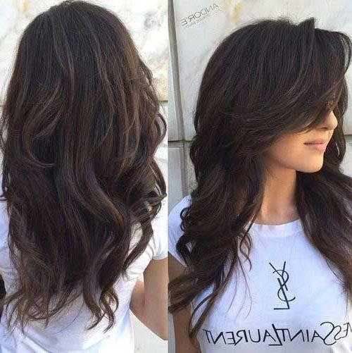 Latest Long Haircuts For Wavy Thick Hair With Best 25+ Thick Wavy Haircuts Ideas On Pinterest | Short Thick Wavy (View 6 of 15)