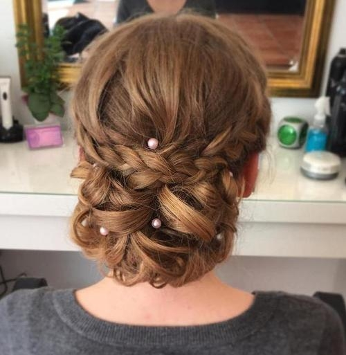 Latest Long Hairstyle For Prom Regarding 40 Most Delightful Prom Updos For Long Hair In  (View 9 of 20)