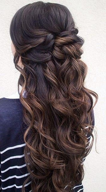 Latest Long Hairstyles For Balls Throughout Best 25+ Long Prom Hair Ideas On Pinterest | Prom Hairstyles For (View 7 of 20)