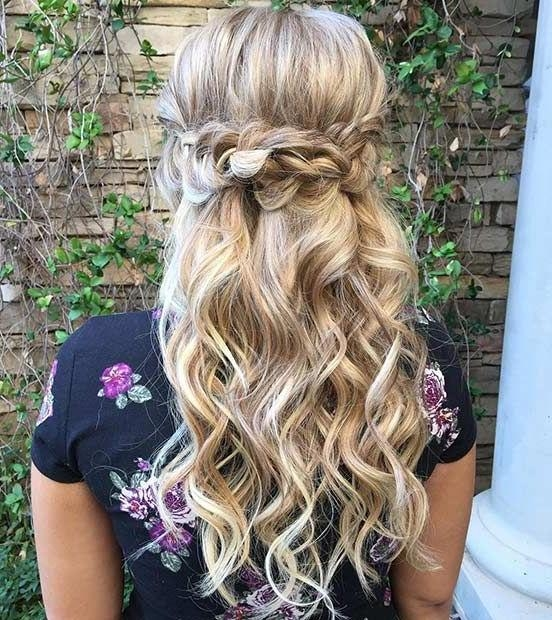 Latest Long Hairstyles For Bridesmaids With Regard To 25+ Trending Bridesmaids Hairstyles Ideas On Pinterest (View 14 of 20)