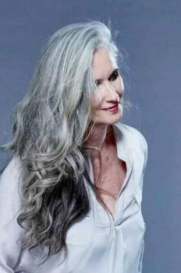 Latest Long Hairstyles For Gray Hair Throughout Gorgeous Gray Give Me A Few More Months & This Will Be Me (View 9 of 15)