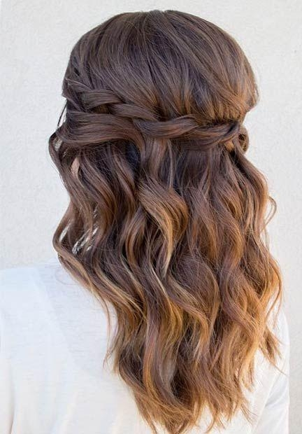 Latest Long Hairstyles For Homecoming In Best 25+ Homecoming Hairstyles Ideas On Pinterest | Hair Styles (View 10 of 20)