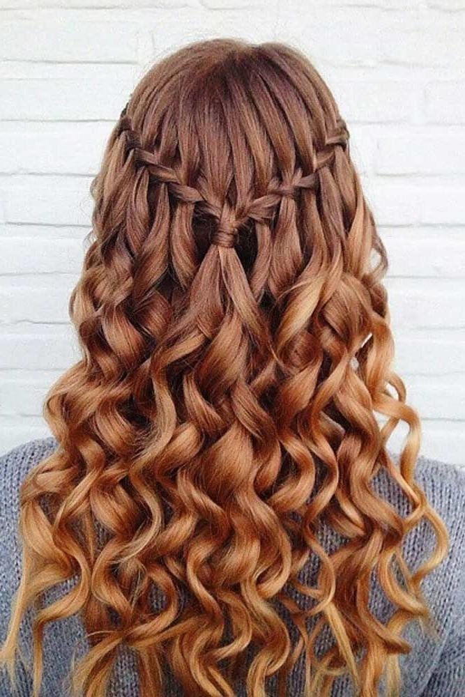 Latest Long Hairstyles For Homecoming With Regard To 25+ Trending Prom Hairstyles Ideas On Pinterest | Hair Styles For (View 11 of 20)