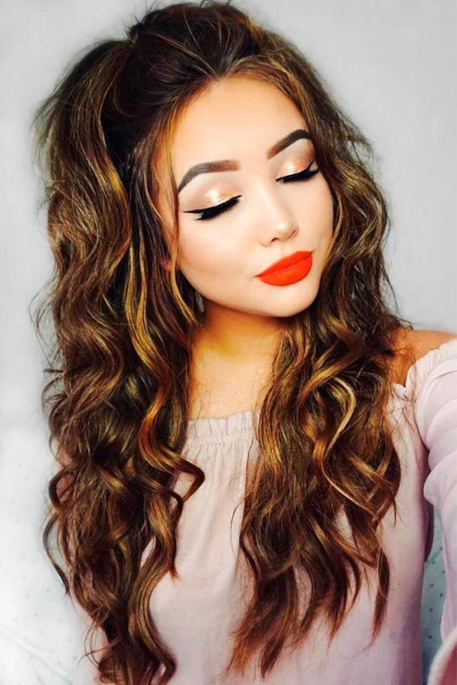 Latest Long Hairstyles For Square Face Within The 25+ Best Square Face Hairstyles Ideas On Pinterest | Haircut (View 8 of 20)