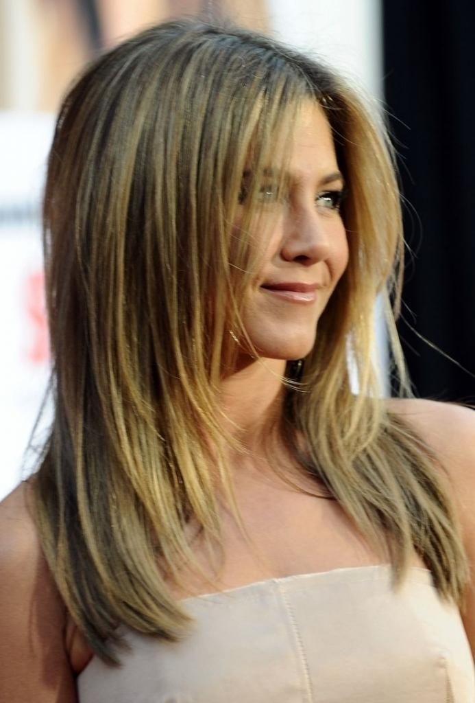 Photo Gallery Of Long Hairstyles For Thin Straight Hair Viewing 10