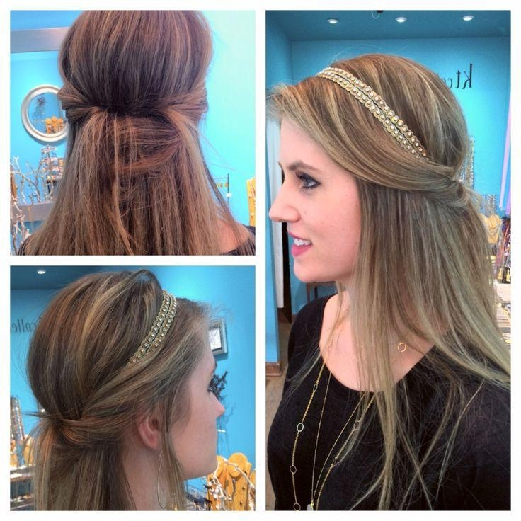 Latest Long Hairstyles With Headbands Regarding 25+ Trending Hairstyles With Headbands Ideas On Pinterest (View 6 of 15)