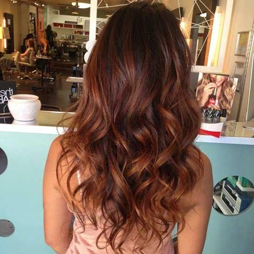 Latest Long Hairstyles With Layers And Curls In 35 Long Layered Curly Hair | Hairstyles & Haircuts 2016 – (View 12 of 20)