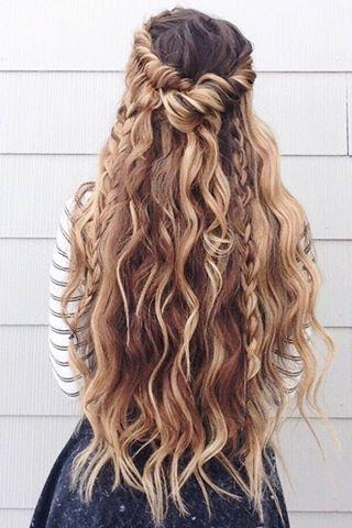 Latest Long Prom Hairstyles Throughout 60 Prom Hairstyles For Long Hair | Pageant Planet (View 7 of 20)