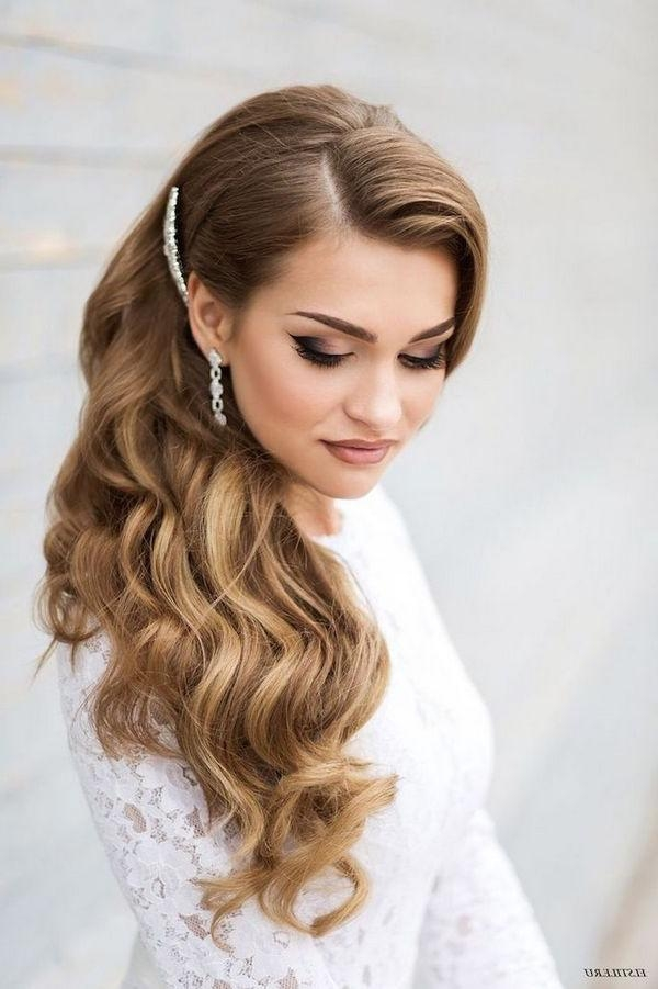 Latest Old Hollywood Long Hairstyles With Regard To 60+ Wedding & Bridal Hairstyle Ideas, Trends & Inspiration – The (View 9 of 20)