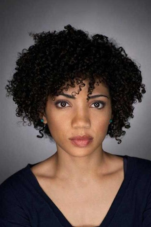 Latest Short Haircuts For Black Women | Short Hairstyles 2016 With Regard To Short Haircuts For Naturally Curly Black Hair (View 13 of 20)