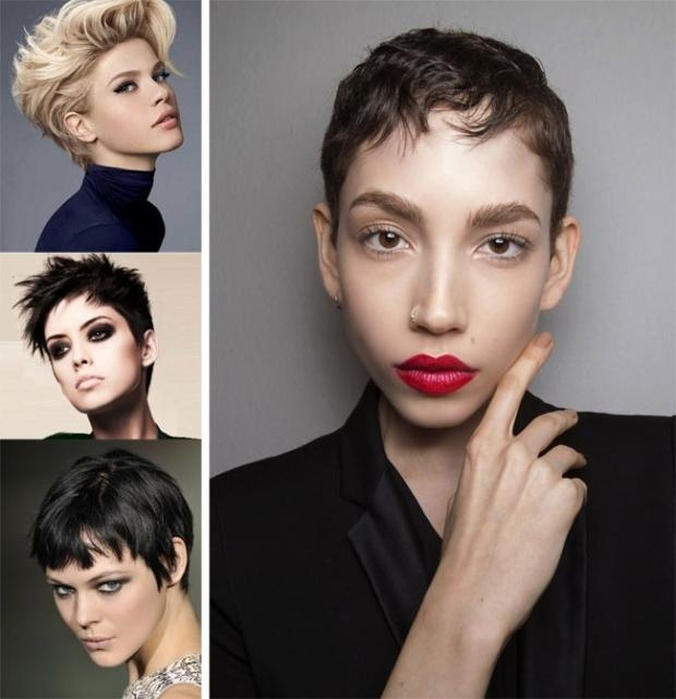 Latest Short Haircuts For Spring Summer 2018 Inside Short Hairstyles For Spring (View 11 of 20)