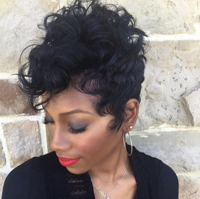 Latest Short Haircuts For Women – Short Hairstyles For 2017 Inside Soft Short Hairstyles For Black Women (View 16 of 20)