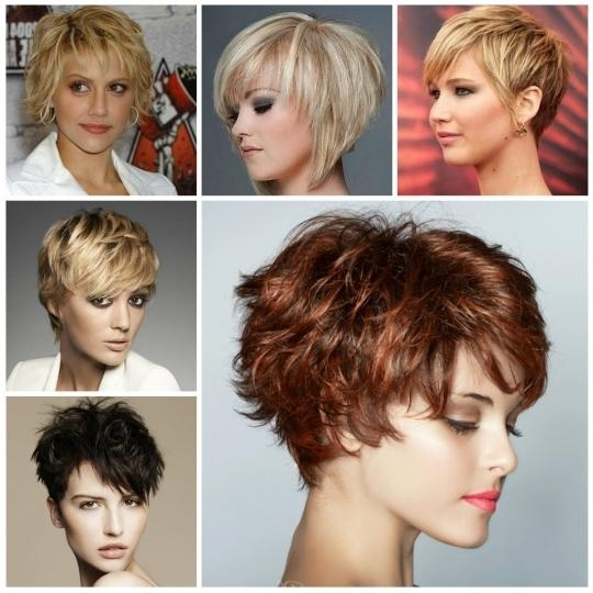 Latest Short Hairstyles Trends 2016 – Short Hairstyles Cuts For Short Hairstyles For Spring (View 18 of 20)