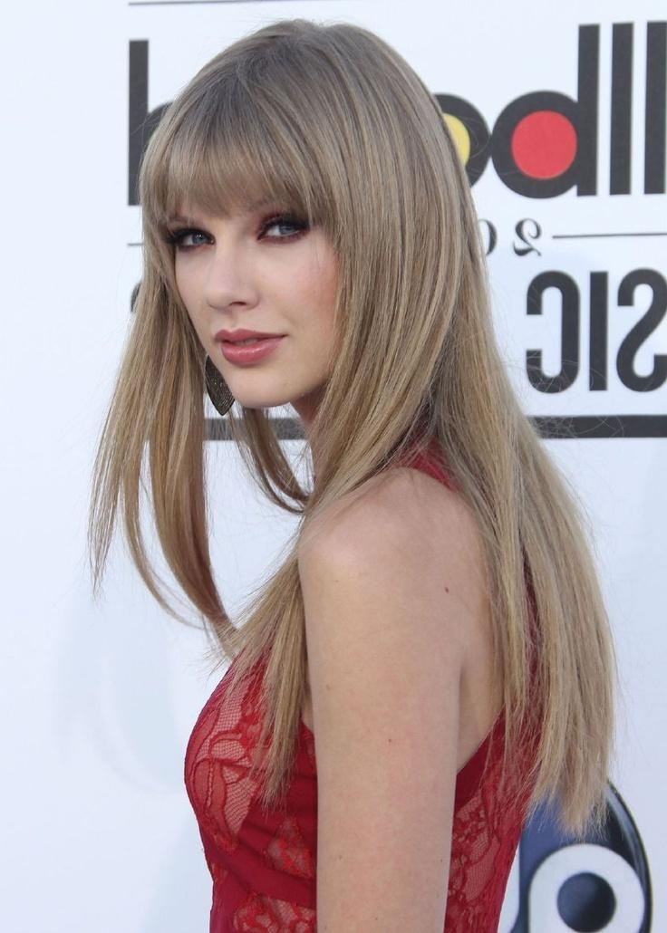 Latest Taylor Swift Long Hairstyles Intended For Celebrity Hairstyles : Taylor Swift Blonde Hairstyles Taylor Swift (View 4 of 15)