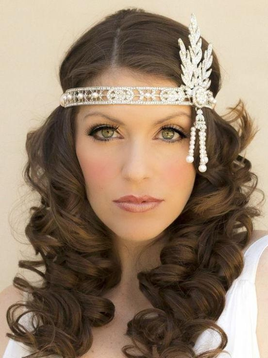 Latest Twenties Long Hairstyles Throughout 25+ Unique Gatsby Hairstyles Ideas On Pinterest | Gatsby Hair (View 10 of 20)