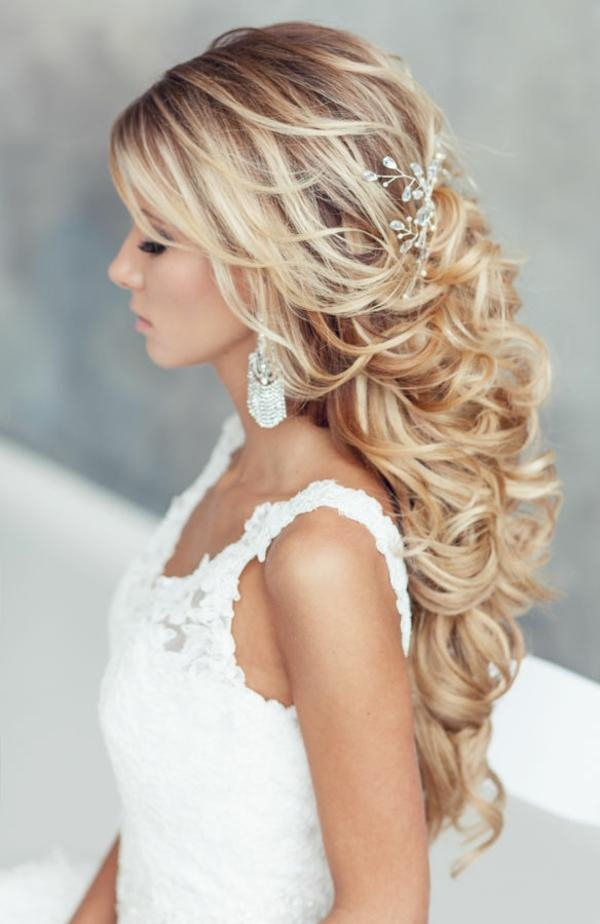 Latest Wedding Half Up Long Hairstyles In 20 Awesome Half Up Half Down Wedding Hairstyle Ideas (View 6 of 20)