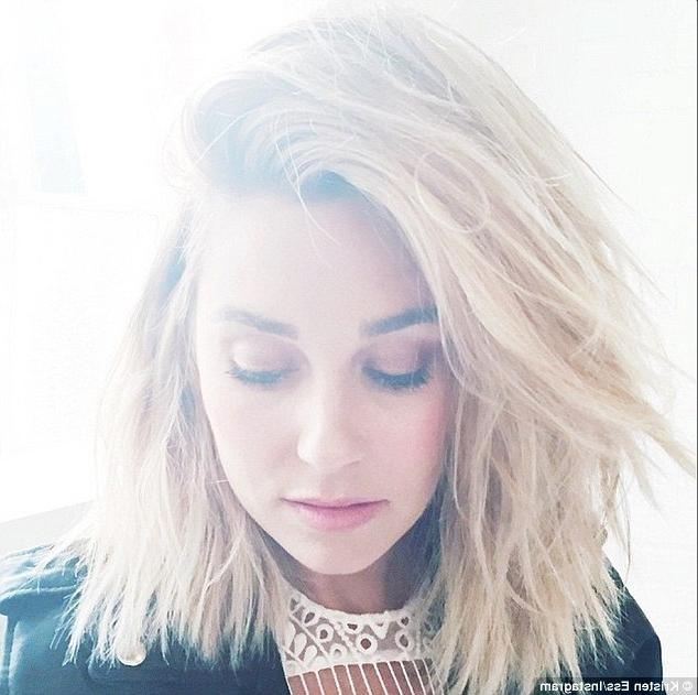 Lauren Conrad Debuts Even Shorter Hair As She Gets Her 'weekly Within Lauren Conrad Short Haircuts (View 10 of 20)