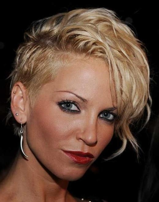 Layered Asymmetrical Short Haircut For 2014 – Pretty Designs In Asymmetrical Short Haircuts For Women (View 14 of 20)