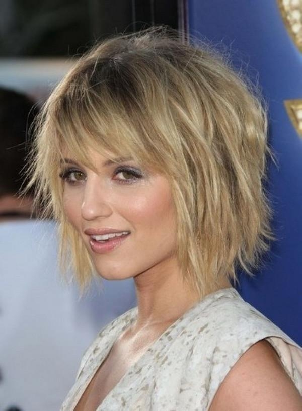 Photo Gallery Of Choppy Short Haircuts For Fine Hair Viewing 18 Of