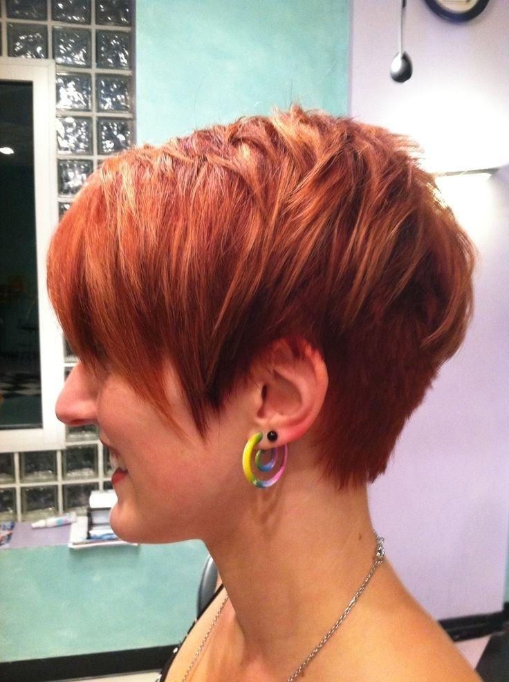 Layered Haircuts Photos Layered Red Hair Pretty Short Haircuts For With Short Haircuts With Red Hair (View 16 of 20)