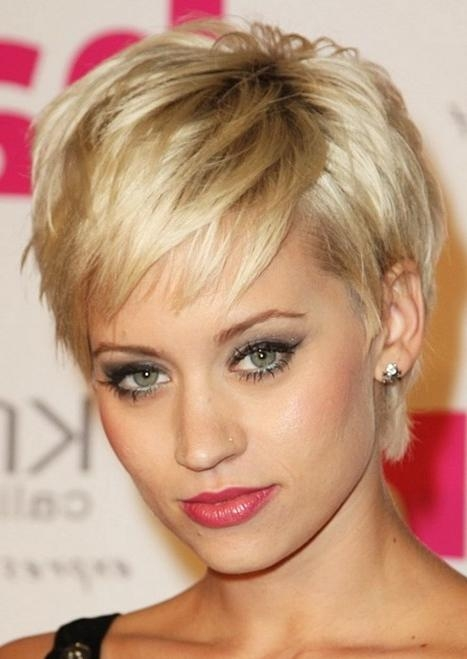 Layered Pixie Haircut, Sexy Short Hairstyles For Women – Popular Inside Pixie Layered Short Haircuts (View 14 of 20)