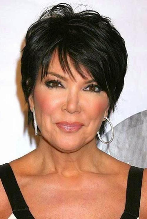 Layered Short Hair Older Ladies Trend Kris Jenner Hair | Hair Regarding Short Haircuts Kris Jenner (View 13 of 20)