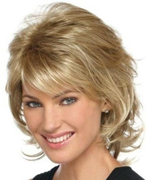 Layered Short Haircuts With Side Swept Bangs | Styles Time Pertaining To Short Hairstyles With Bangs And Layers (View 15 of 20)