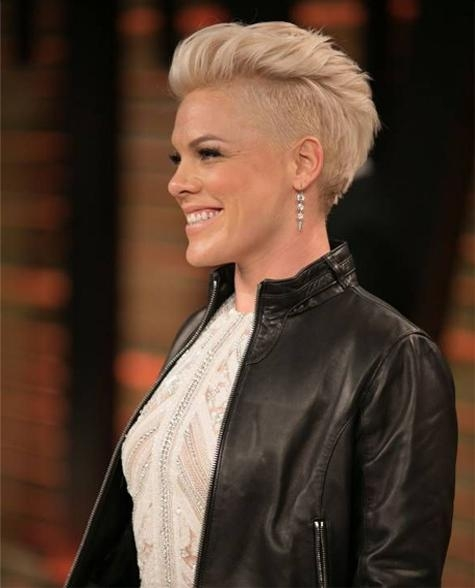 Light Pink Short Haircuts 2015 – 2016 | Full Dose With Regard To Pinks Short Haircuts (View 9 of 20)