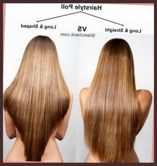 Long Hair With A V Shape Cut At The Back Women Hairstyles Inside V Shaped Layered Short Haircuts (View 15 of 20)