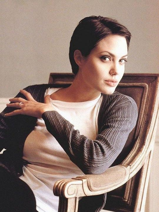 Más De 25 Ideas Increíbles Sobre Angelina Jolie Short Hair En In Angelina Jolie Short Hairstyles (View 15 of 20)