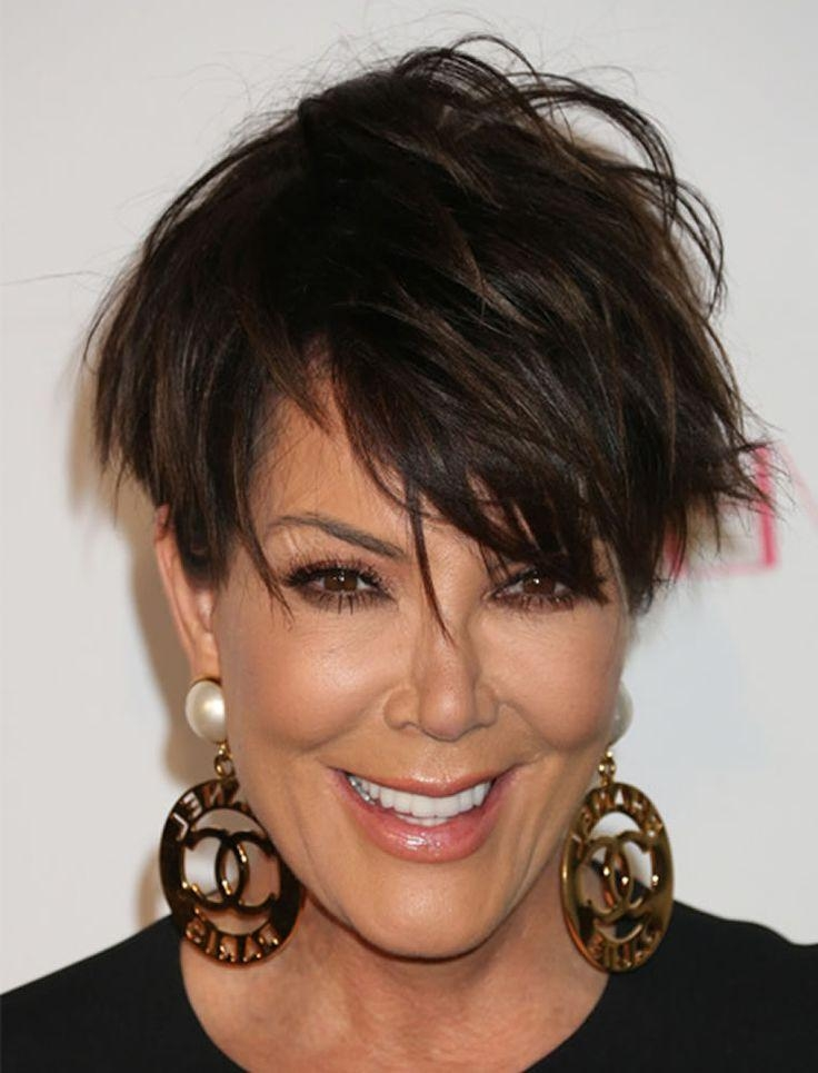 Más De 25 Ideas Increíbles Sobre Corte De Pelo De Kris Jenner En Within Kris Jenner Short Haircuts (View 18 of 20)