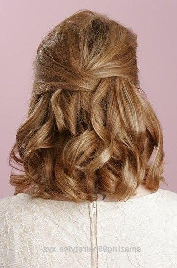 Más De 25 Ideas Increíbles Sobre Half Up Half Down Short Hair En Intended For Half Up Half Down Short Hairstyles (View 19 of 20)