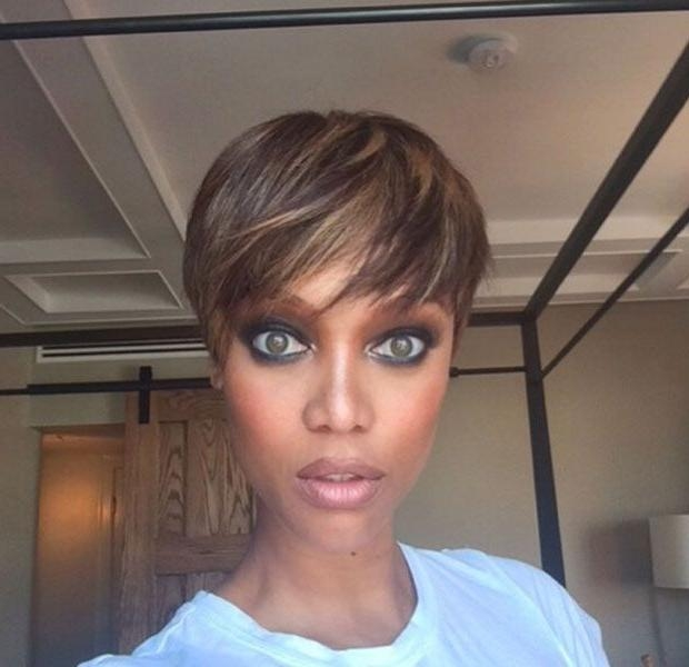 Más De 25 Ideas Increíbles Sobre Tyra Banks Pelo Corto En Throughout Tyra Banks Short Hairstyles (View 8 of 20)